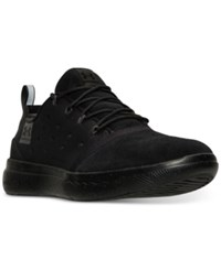 Under Armour Men's 24 7 Suede Casual Sneakers From Finish Line Black Black