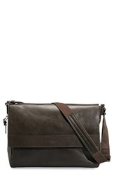 Shinola Men's 'East West' Messenger Bag Brown Deep Brown