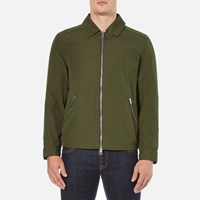 Gant Rugger Men's Double Flyer Jacket Dark Butternut Green