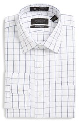 Men's Nordstrom Men's Shop Smartcare Traditional Fit Check Dress Shirt Grey Sconce