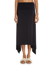 Magicsuit Jersey Handkerchief Coverup Skirt Black