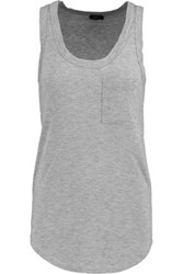 Joseph Stretch Jersey Tank Gray