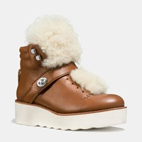 Coach Urban Hiker Boot Saddle Natural