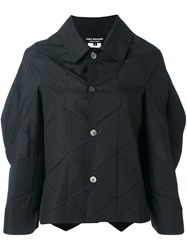 Comme Des Garcons Junya Watanabe Geometric Oversized Jacket Black