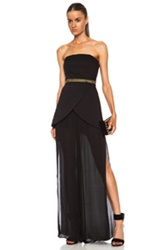 Sass And Bide Give A Cheer Nylon Blend Jumpsuit In Black