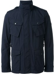 Woolrich Military Jacket Blue