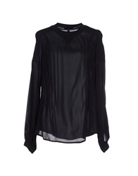 High Blouses Black
