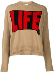 Moncler Life Sweater Brown