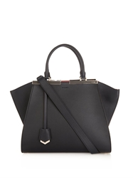 Fendi 3Jours Trapeze Wing Small Leather Tote