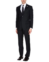 Luigi Bianchi Mantova Suits Steel Grey
