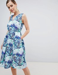 Closet London Floral Dress Multi
