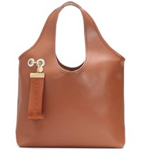 See By Chloe Jay Leather Tote Brown