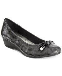 Karen Scott Pippa Casual Wedge Pumps Only At Macy's Women's Shoes Black