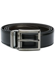 Hugo Boss Adjustable Buckle Belt Black
