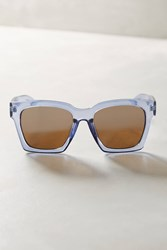 Anthropologie Amy Squared Sunglasses Blue