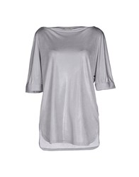 Henry Cotton's Topwear T Shirts Women Grey