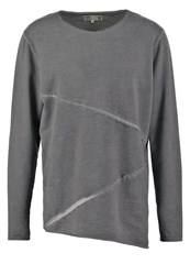 Solid Eemeli Sweatshirt Jet Black Dark Grey