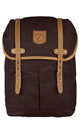Fjall Raven Men's Fjallraven 'No. 21' Rucksack Brown Hickory Brown