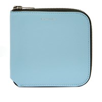 Acne Studios Csarite S Zip Wallet Blue