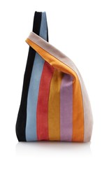 Hayward Striped Suede Shopper