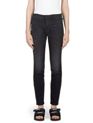 Palm Angels Backwards Jeans Black Wash
