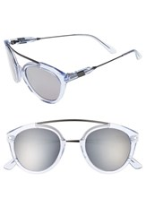 Westward Leaning Women's 'Flower' 51Mm Sunglasses Blue Ice Shiny Super Silver Blue Ice Shiny Super Silver
