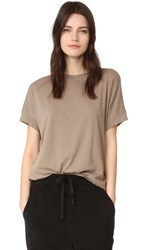 Vince Cocoon Tee Pebble Taupe