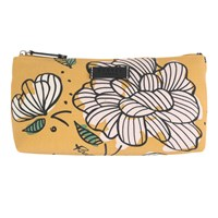 Radley Floristics Small Cosmetics Bag Yellow