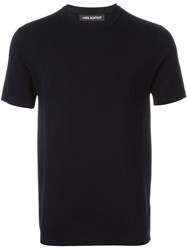 Neil Barrett Short Sleeve Sweater Blue