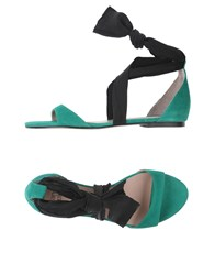Gianna Meliani Sandals Green
