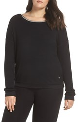Pj Salvage Ringer Thermal Tee Black