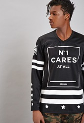 Forever 21 Reason No1 Cares Top Black White