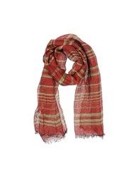 Brian Dales Accessories Oblong Scarves Men Maroon