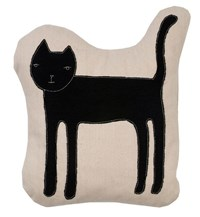 K Studio Cat Pillow Multicolor