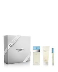 Dolce And Gabbana Light Blue Eau De Toilette 3 Piece Gift Set No Color