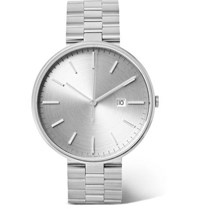 Uniform Wares M40 Stainless Steel Watch Silver