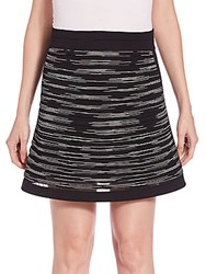 M Missoni Space Dyed Knit Skirt Black