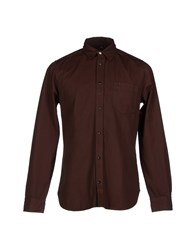 Meltin Pot Shirts Shirts Men Brick Red