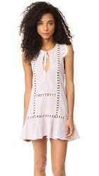 For Love And Lemons Emmy Cover Up Dress Pin Stripe