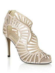 Daniel Kingsbury Cut Out Heeled Sandals Pink