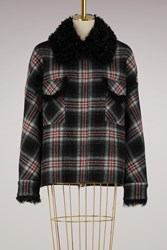 Moncler Gamme Rouge Maryna Wool Jacket Black