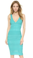 Ronny Kobo Camilla Dress Aqua