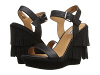 Not Rated Roaring Ruby Black Women's Wedge Shoes