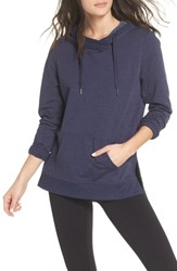 Zella Favorite Hoodie Navy Maritime Heather