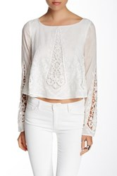 Tjd Gypsy Blouse White