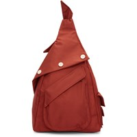 Raf Simons Red Eastpak Edition Organized Sling Backpack
