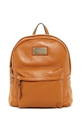 Valentino By Mario Valentino Diego Genuine Leather Backpack Brown