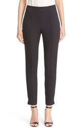 St. John Women's Collection Emma Stretch Pique Pants