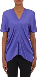 Zero Maria Cornejo Stilla Top Purple