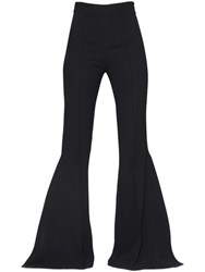 Maticevski High Waist Ruffled And Flared Cady Pants